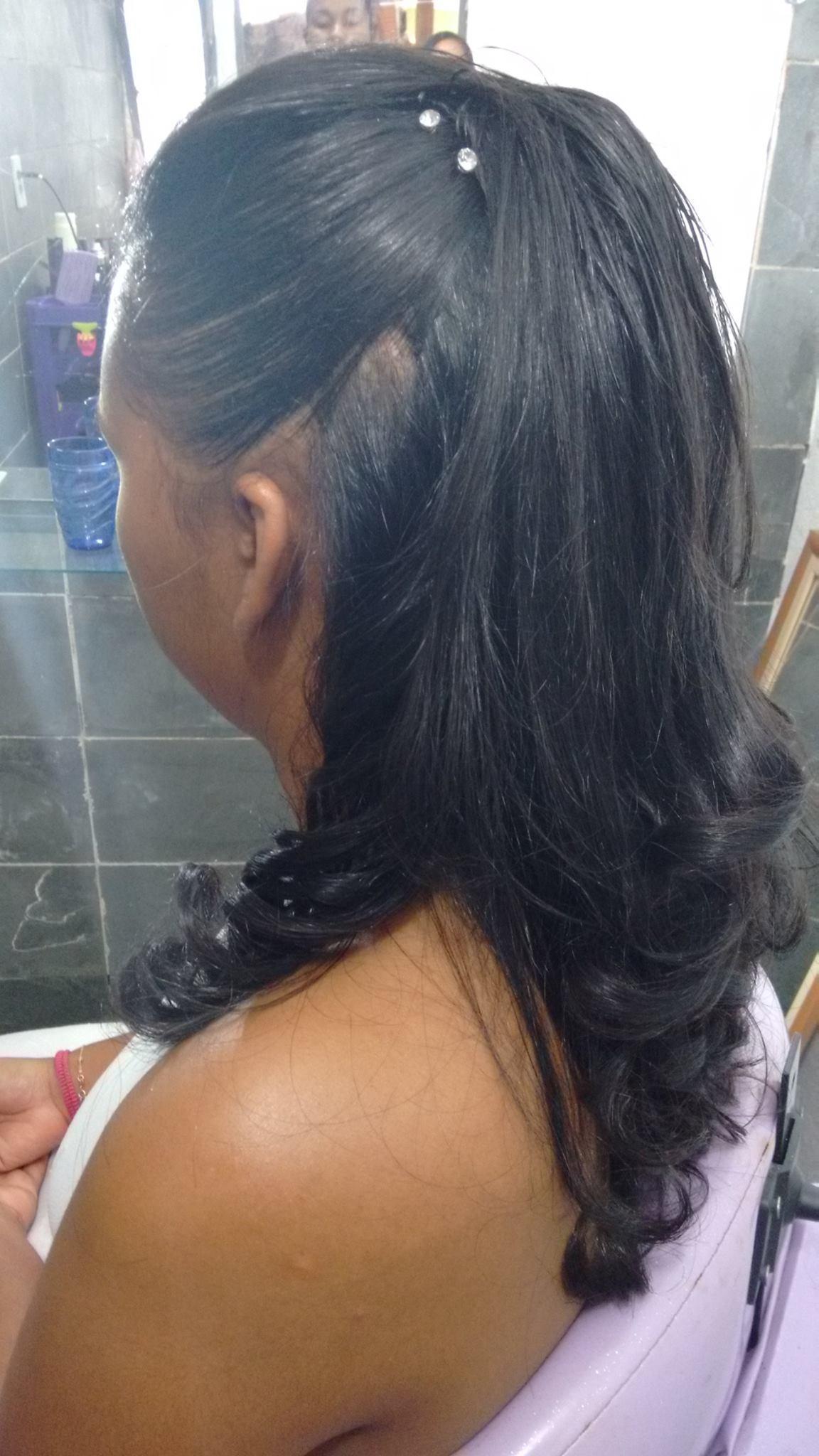 Moicano com estilo #madrinhadenovo cabeleireiro(a)