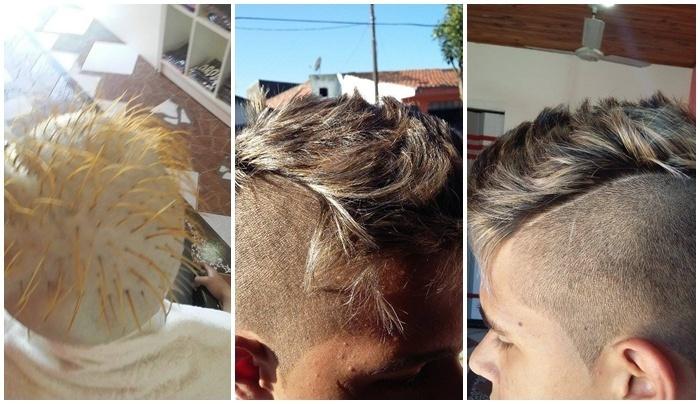 Luzes e Corte Masculino  cabeleireiro(a)