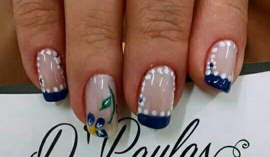 unha decorada, nail art, floral, flor,  unhas  manicure e pedicure