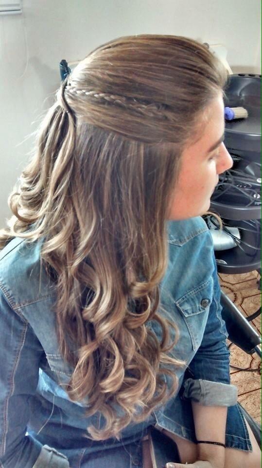 penteado, semi preso, trança, dia a dia, trabalho, social, rápido, fácil, cabelo  cabeleireiro(a)