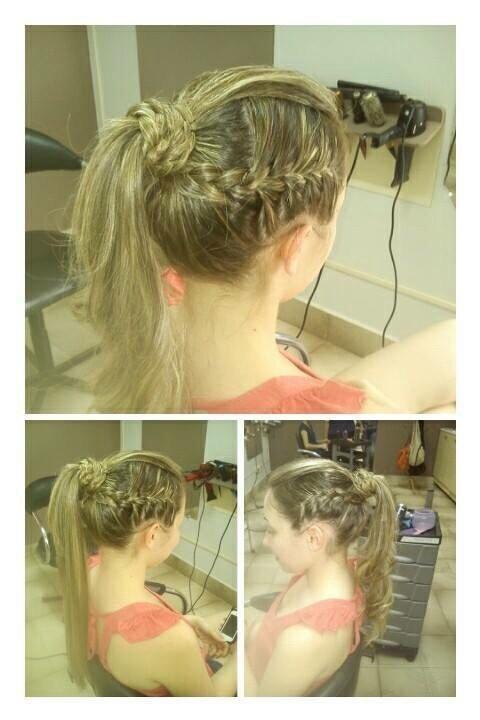 penteado semi preso, trança,  casamento, debutante, formatura cabelo  cabeleireiro(a)