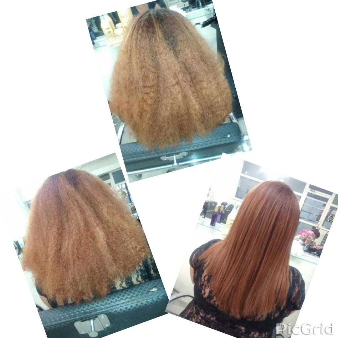 Progressiva, primeira parte redução de volume cabeleireiro(a)