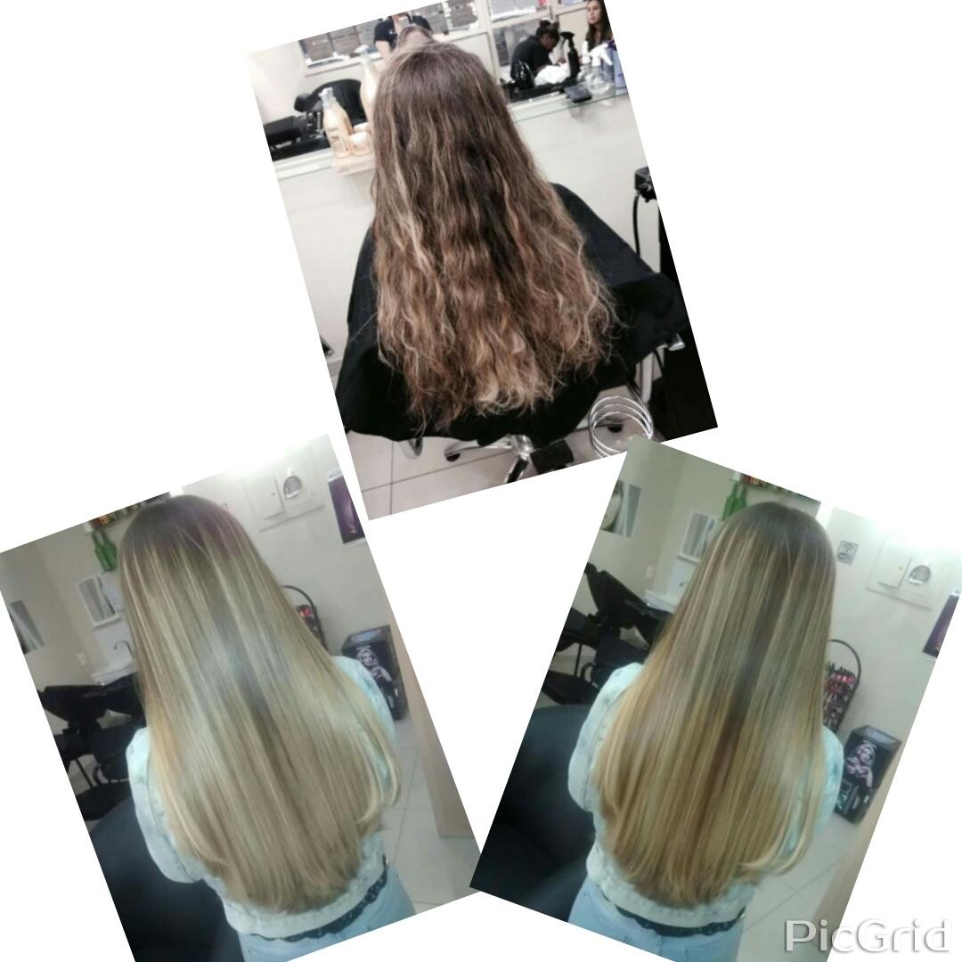 Liso perfeito cabeleireiro(a)