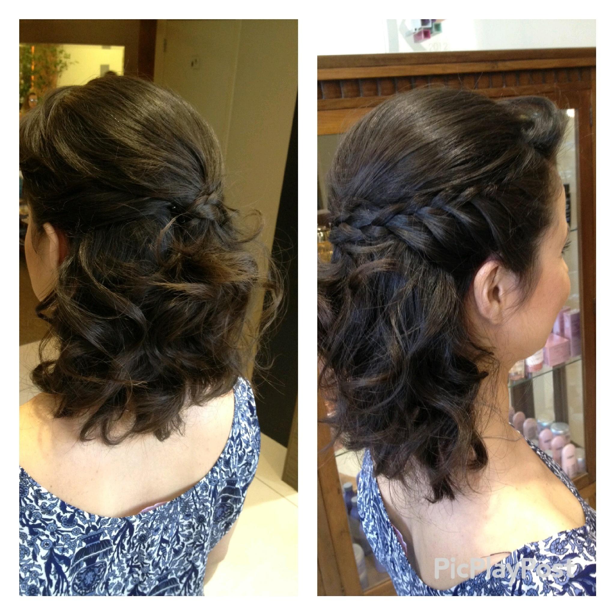 Meio preso #cabelo#penteado#meiopreso#tranca#cabelodefesta#hair#hairdo#amomeutrabalho cabeleireiro(a)
