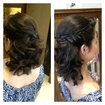 Meio preso #cabelo#penteado#meiopreso#tranca#cabelodefesta#hair#hairdo#amomeutrabalho