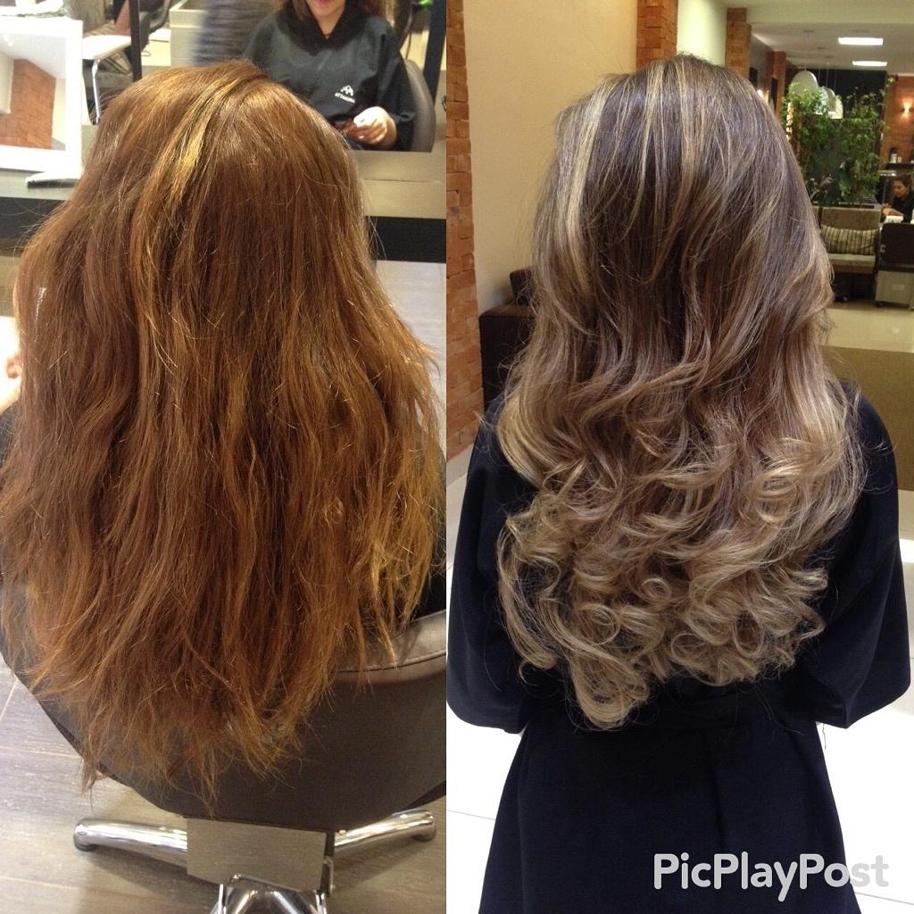#transformacao#ruivo#morenailuminada#singlelights#antesedepois cabeleireiro(a)