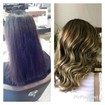 Cabelo com coloracao castanho claro #iluminacao#comecandoaficarloira#loiromel#hair#waves