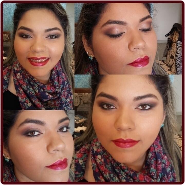 #maquiagem com #batom vibrante  maquiador(a) depilador(a) designer de sobrancelhas