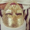 Limpeza de pele de Ouro! Puro glamour . #limpezadepeledeouro