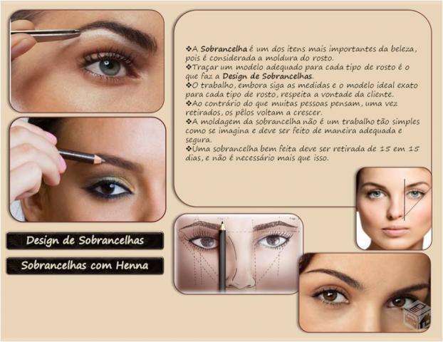 designer de sobrancelhas escovista maquiador(a)