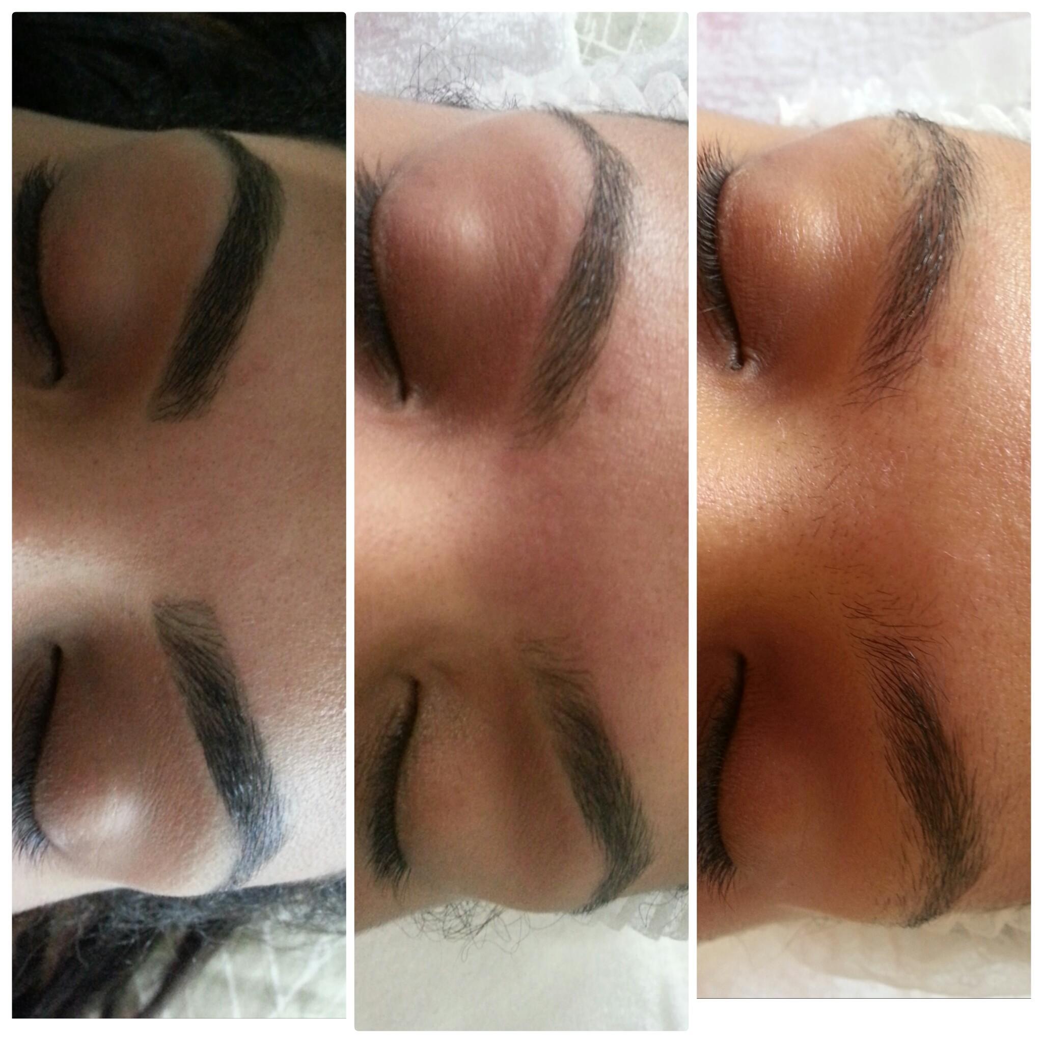 Design de sobrancelhas - método egípcio esteticista designer de sobrancelhas depilador(a)
