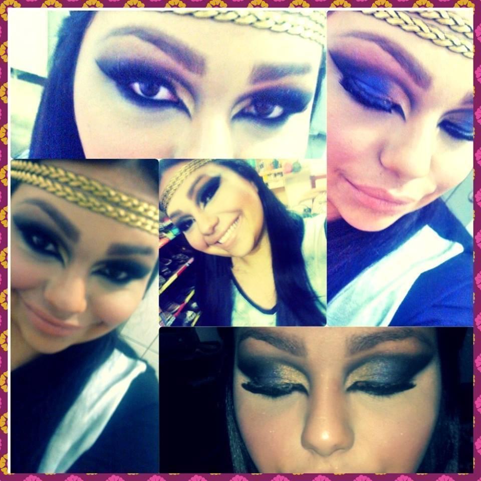 Maquiagem Árabe recepcionista