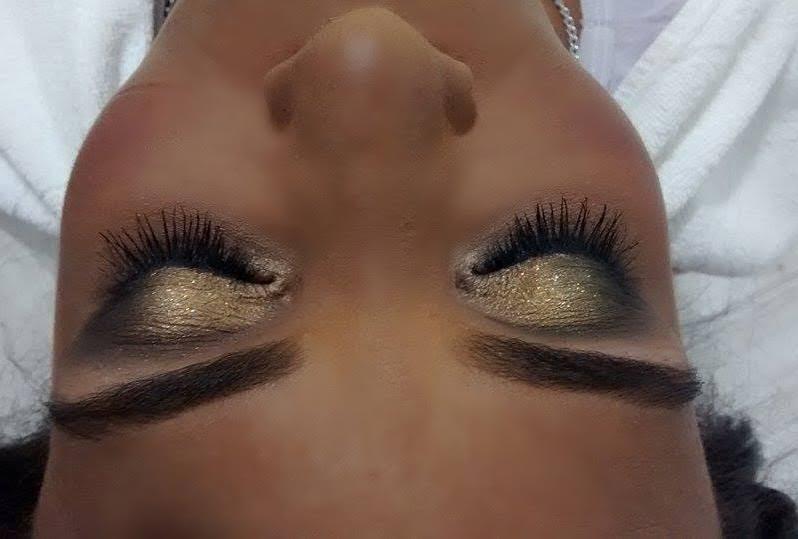 Maquiagem madrinha. esteticista maquiador(a) designer de sobrancelhas
