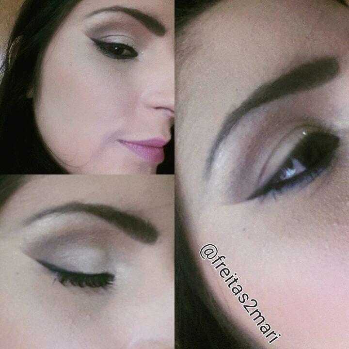 #Makeupbyfreitasmari #instamakeup #cosmedic #cosmedcs  #fashion #instagood #beautiful  #maquillaje #linda #festa #debutante #madrinha #social #noiva #balada  maquiador(a)