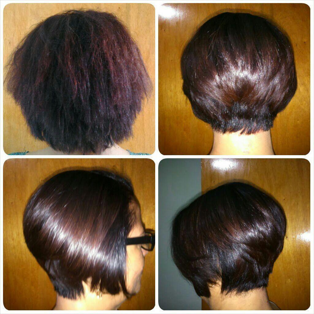 Corte: Chanel de bico e nuva batida + coloração + retoque de raíz escova definitiva. cabelo cabeleireiro(a) manicure e pedicure escovista barbeiro(a) auxiliar cabeleireiro(a)