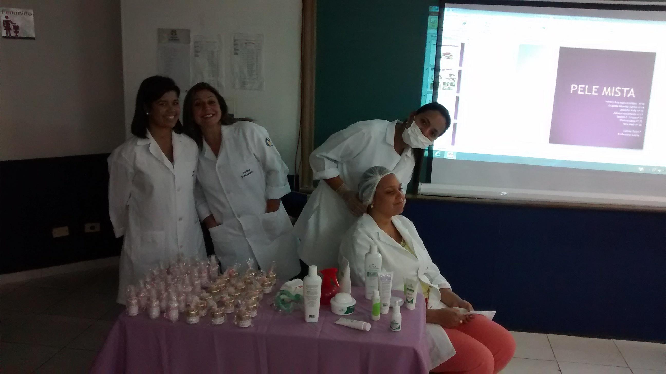 Apresentação Seminário Tema Cosmetologia esteticista