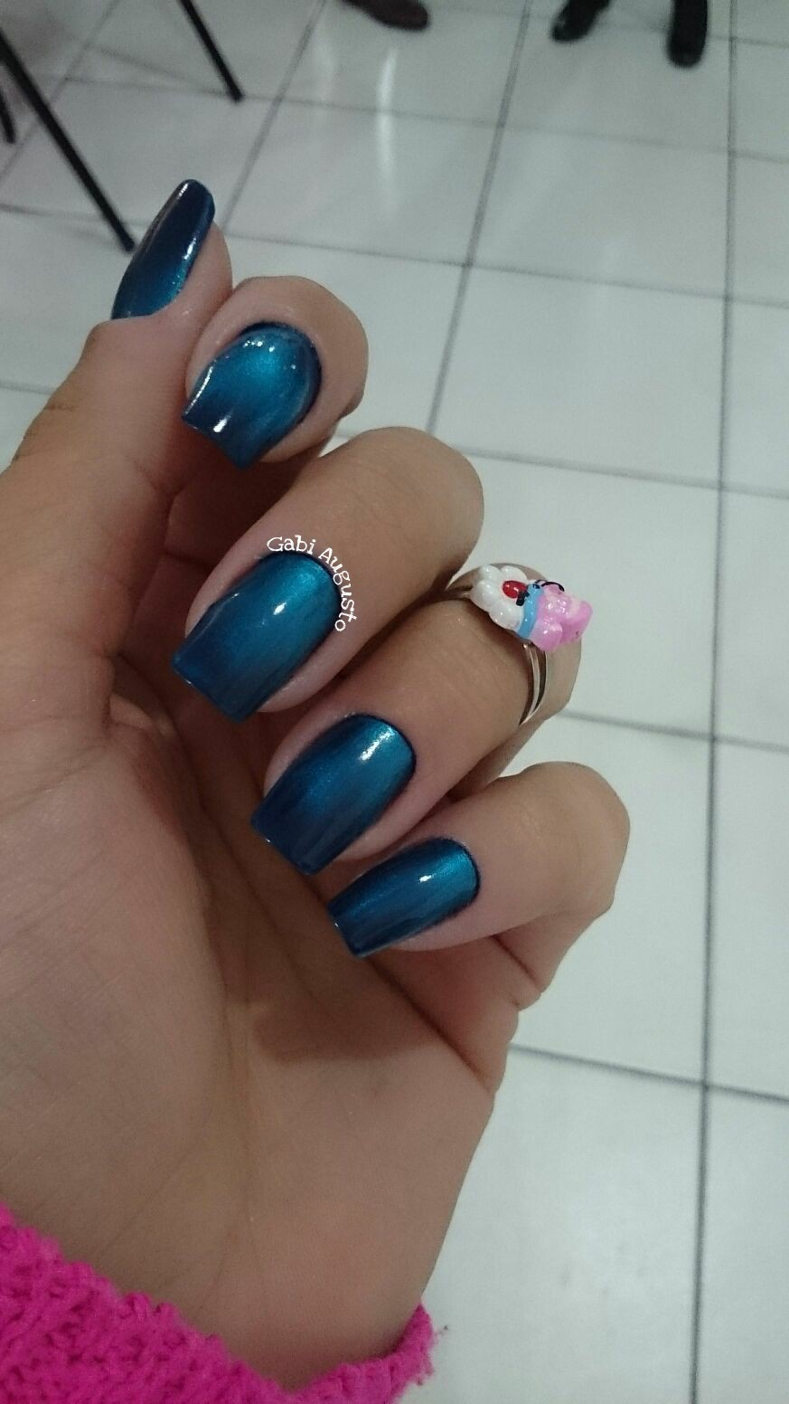 #maosepes #manicurenoabc #unhasbemfeitas #trabalhocomamor #saobernadodocampo #unhas #bygabiaugusto #manicuretop #ahazei #manicure #profissionaldabeleza  unha manicure e pedicure recepcionista