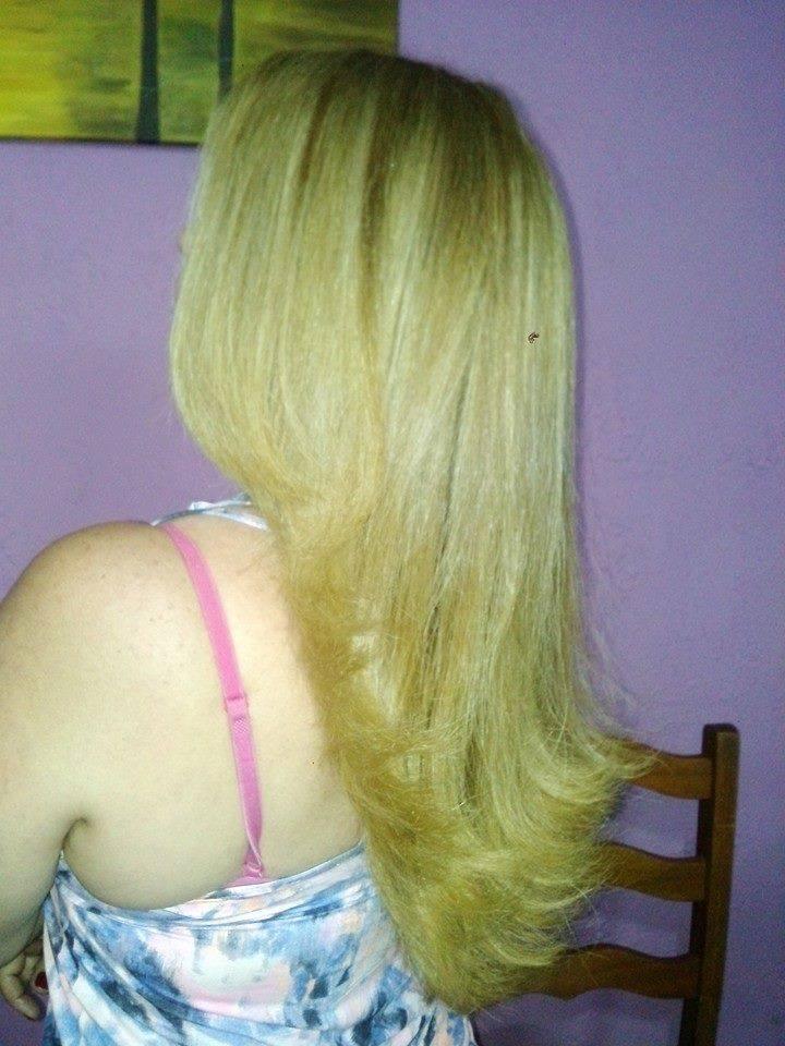 coloração, corte e escova cabeleireiro(a)