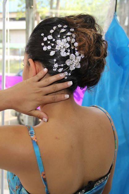 penteado, preso, noiva, casamento, debutante, cabelo  cabeleireiro(a)