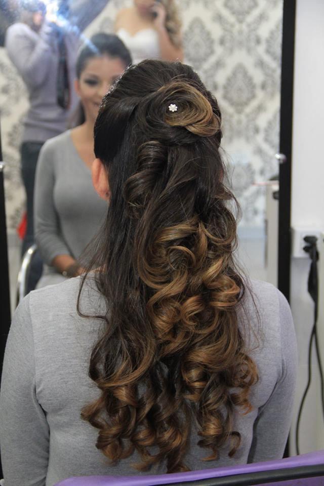 penteado, cachos, madrinha, debutante, noiva, festa, cabelo  cabeleireiro(a)