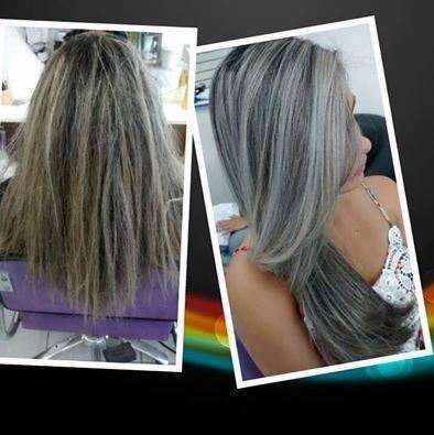 Botox com matizado  cabeleireiro(a)