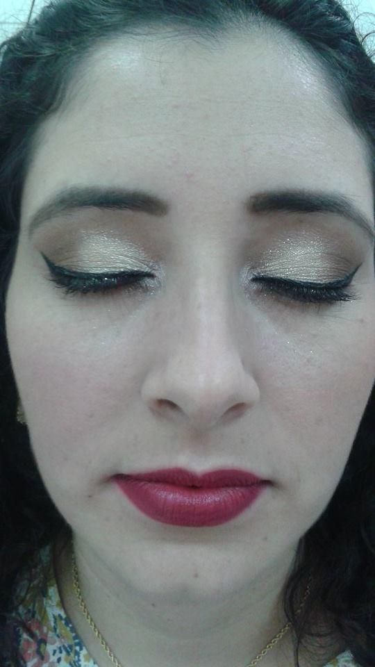 #makedourada#delicada#delineadogatinho designer de sobrancelhas micropigmentador(a)
