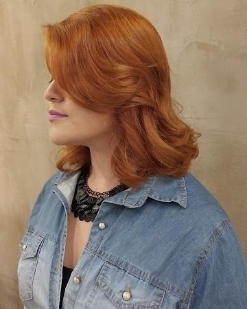 Ruiva      @brunnomoreno #retro #retrohair #vivaessaexperiencia #cabelo #ruiva #ruivo #augusta #semfiltros #cabelonovo #client #colorist #wella #wellailuminacolor #colorimetria  cabeleireiro(a)