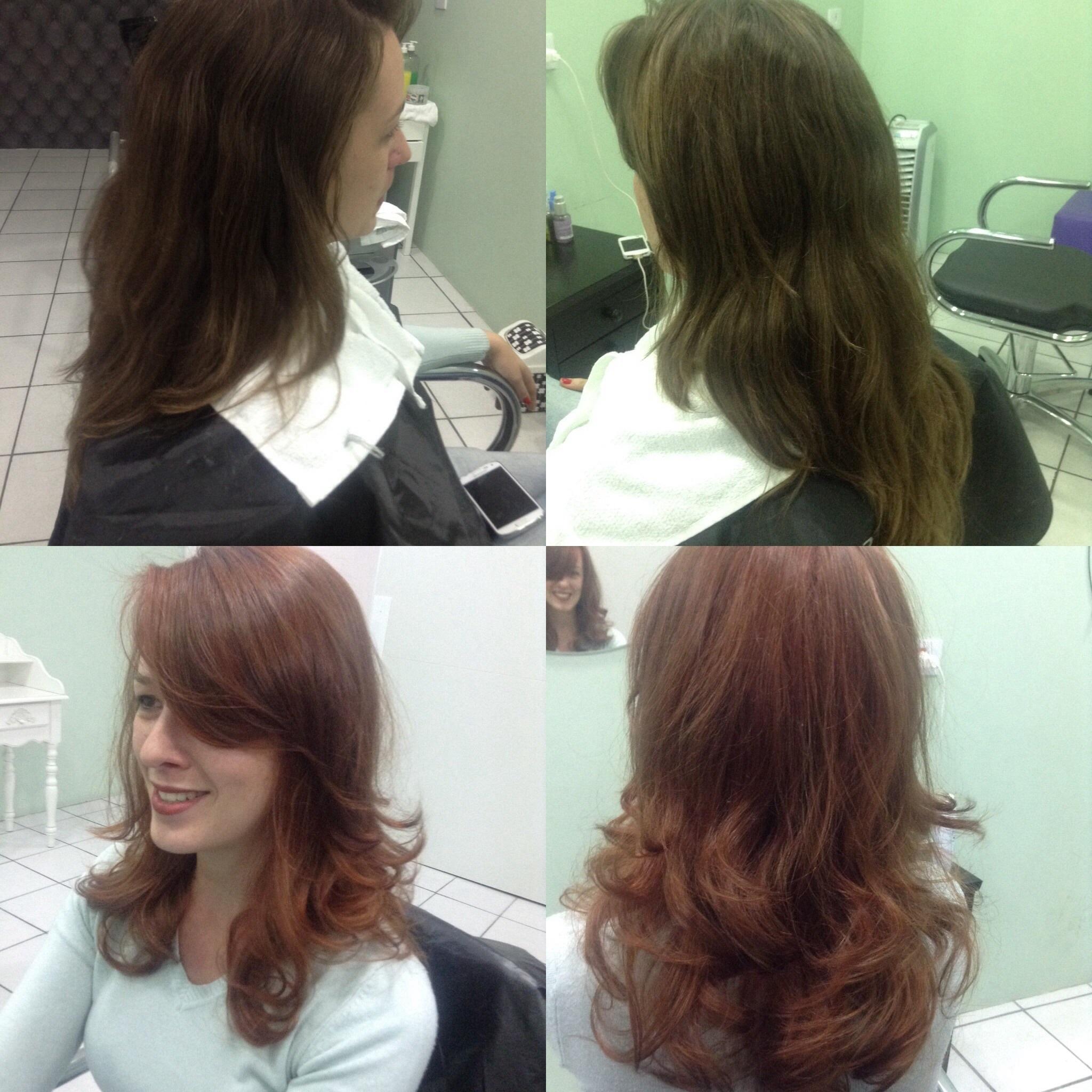 Cores vibrantes!!! cabeleireiro(a) maquiador(a)