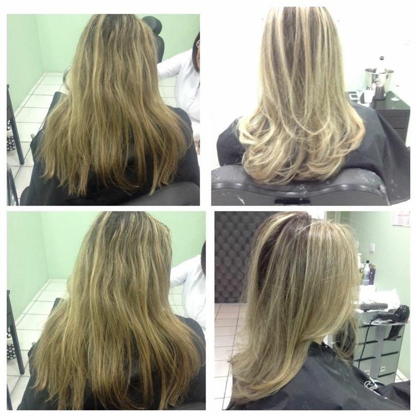 Luzes no tom pérola.  cabelo cabeleireiro(a) maquiador(a)