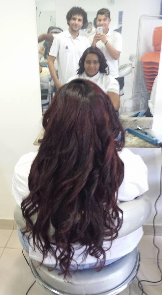 Mega Hair , escovado e piastrado, #adoro #mãonamasa #Embelleze #PaixãopelaVida