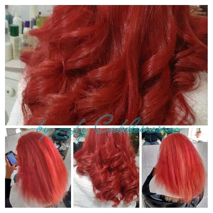 #exotichair #redhair #coloração cabeleireiro(a) empresário(a) / dono de negócio