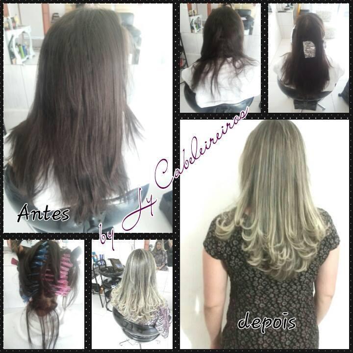 #blondhair #loiroluxo #progressiva #corte cabeleireiro(a) empresário(a) / dono de negócio