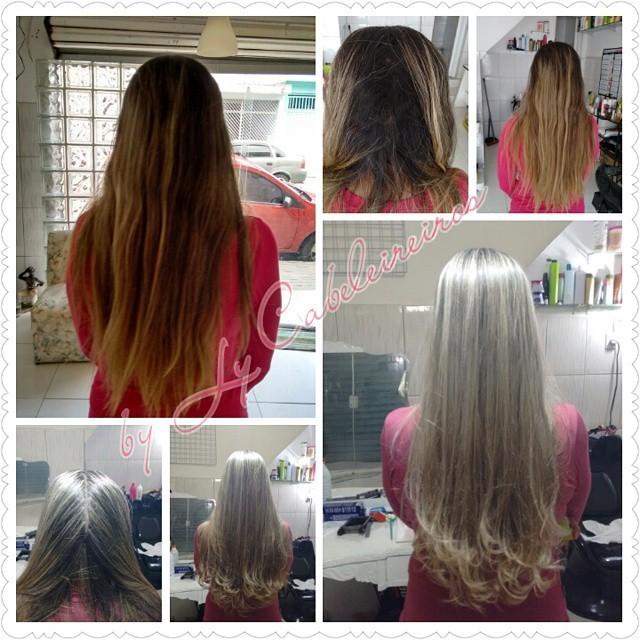#blondhair #progressiva #corte  cabeleireiro(a) empresário(a) / dono de negócio