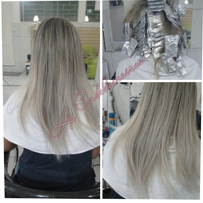 #blonhair #loiroluxo #platinum #progressiva cabeleireiro(a) empresário(a) / dono de negócio