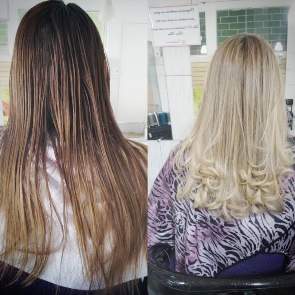 #loiroluxo #blondhair #loiroperola cabeleireiro(a) empresário(a) / dono de negócio