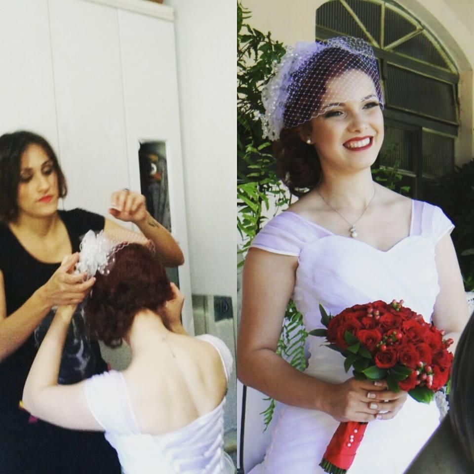 #noivalinda #penteado #noivavintage cabeleireiro(a) empresário(a) / dono de negócio