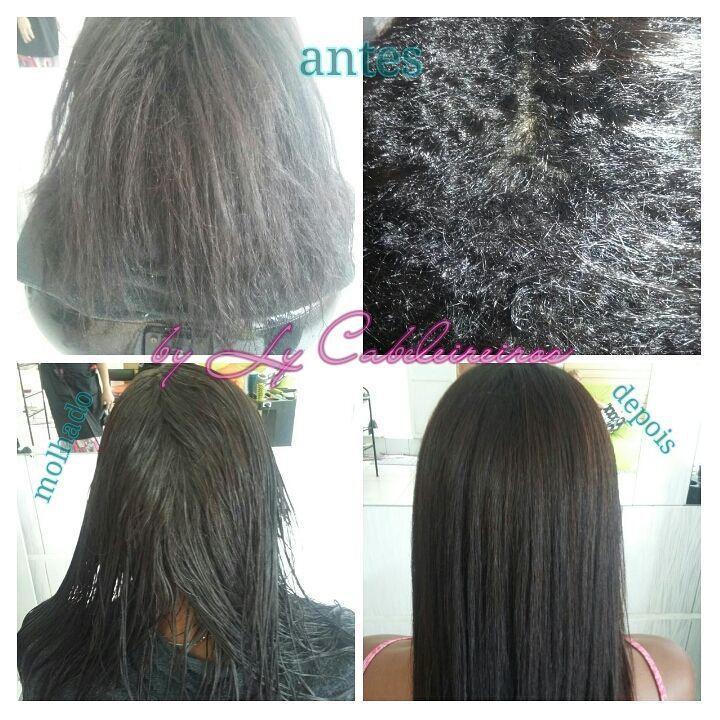 #progressivasemformol #sweetprofessionall #antesedepois  cabeleireiro(a) empresário(a) / dono de negócio