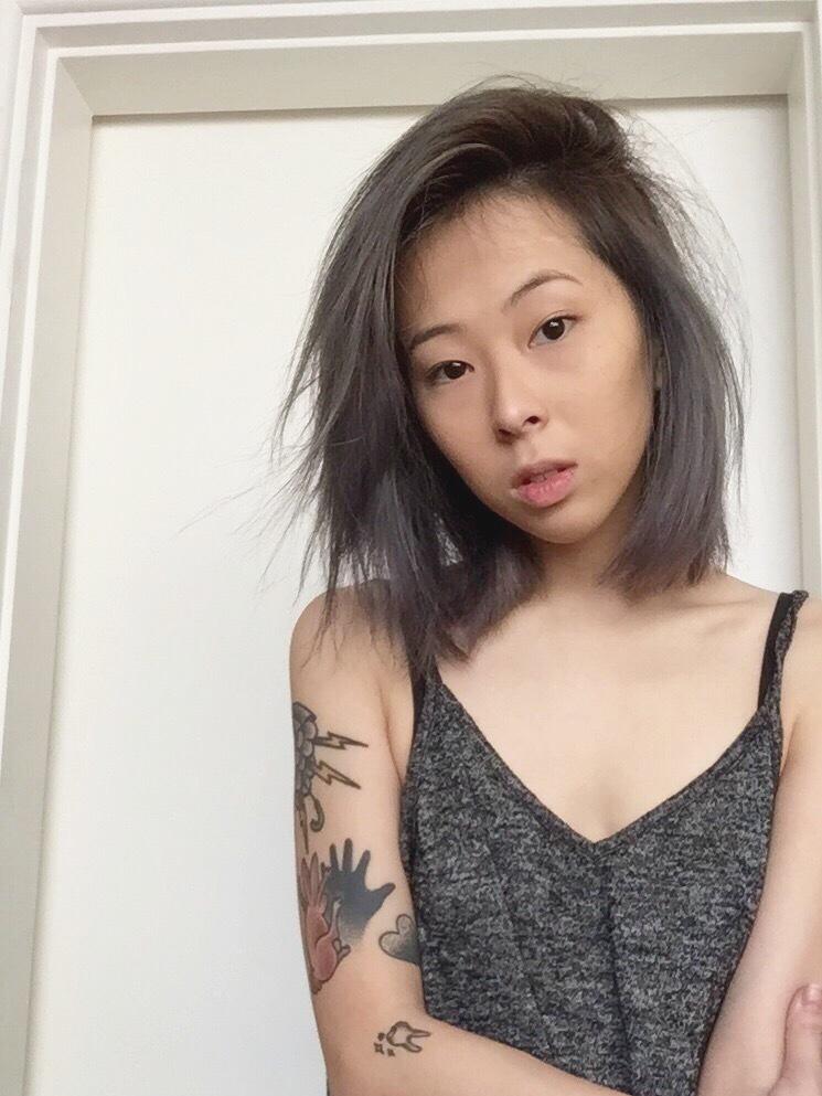 corte curto, desfiado, oriental cabelo  cabeleireiro(a) maquiador(a)