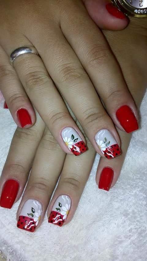 unha decorada, nail art, floral, flor,  unhas  manicure e pedicure auxiliar administrativo auxiliar de limpeza secretário(a)