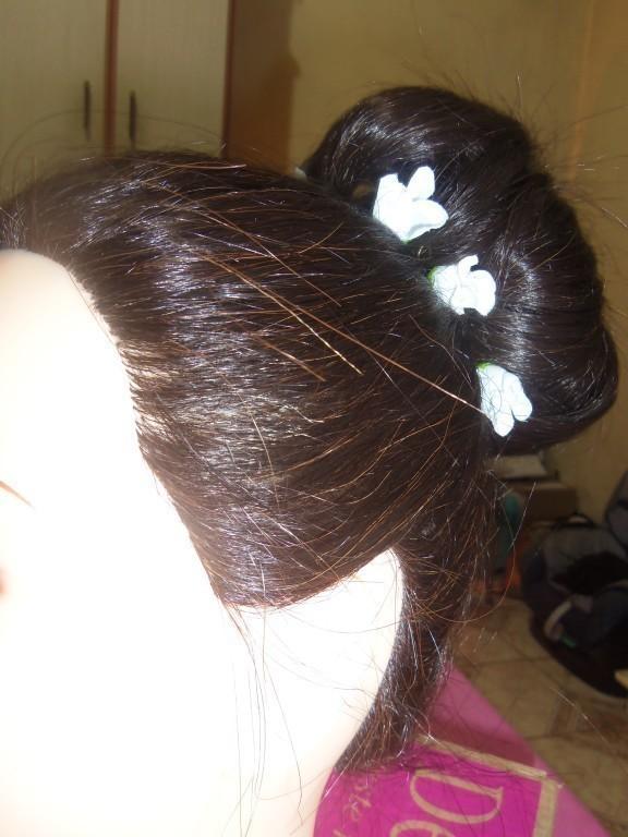 #penteado #coque cabeleireiro(a)