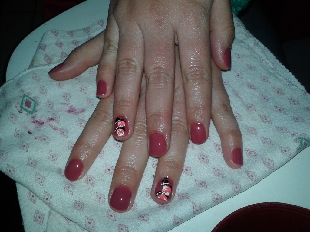 Unhas decoradas empresário(a) / dono de negócio cabeleireiro(a) manicure e pedicure massagista