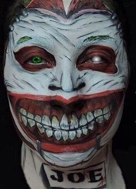 halloween, festa á fantasia, coringa, monstro maquiagem  maquiador(a) biomédico(a) cabeleireiro(a)