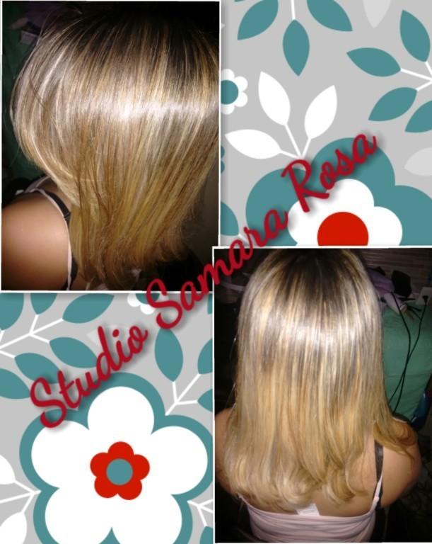 #minhaloira #linda #hidratada #saudável 💆💇🔝😍 cabeleireiro(a)
