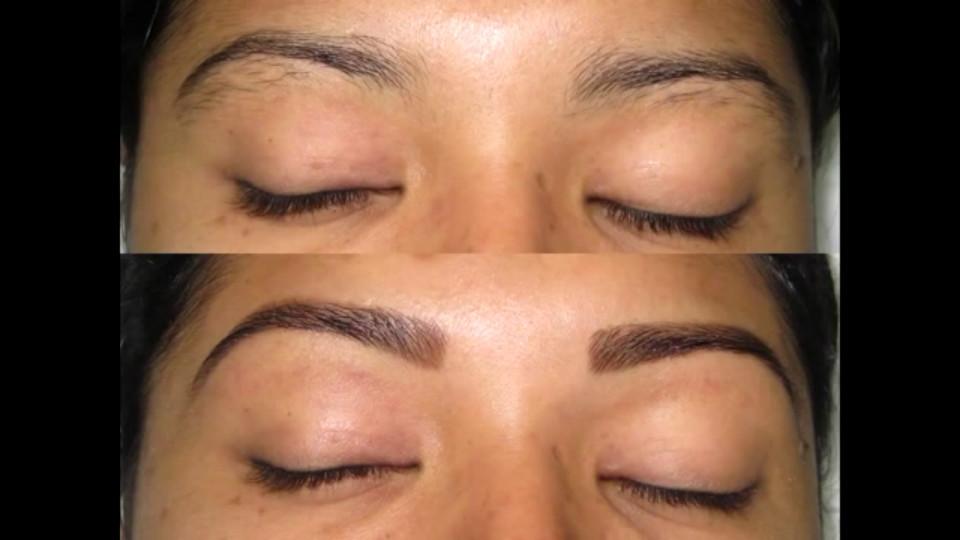Designer de sobrancelhas com henna manicure e pedicure designer de sobrancelhas depilador(a) cabeleireiro(a)