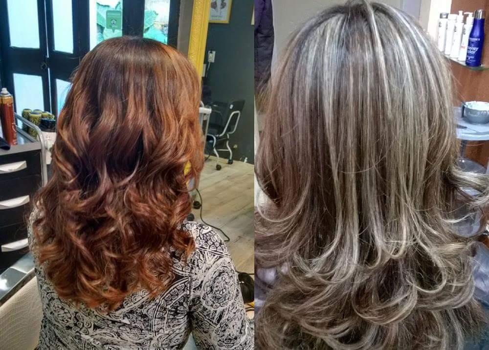 Color Change ! Terei o acobreado,  uniformizando a cor e após mechas.  #Blond #hair #LoiraDiva #Mechas #Platinada #LoirodosSonhos #HairStyle  cabeleireiro(a) empresário(a) / dono de negócio designer de sobrancelhas