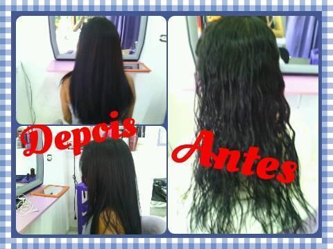Progressiva com formol. cabeleireiro(a) maquiador(a)