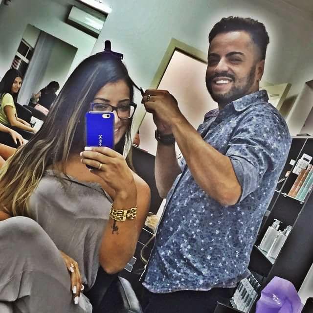 Alongamento capilar ( mega hair) cabeleireiro(a) maquiador(a)