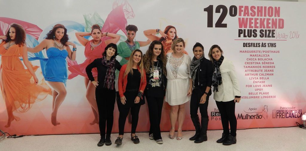 #Participando do #12 o FASHION WEEKEND PLUS SIZE Equipe de maquiadores  maquiador(a) docente / professor(a)