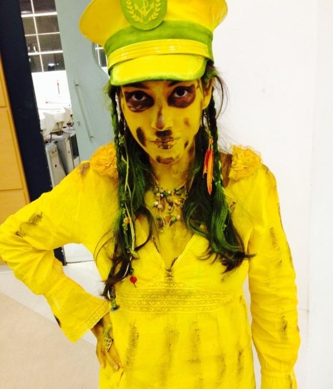 Maquiagem estatuísmo , inspiração piratas do Caribe ! maquiador(a)