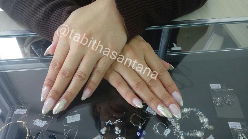 #unhasalmond #unhasdegel manicure e pedicure